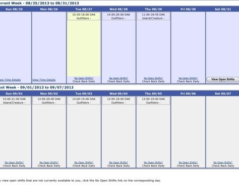 My Schedule - Planning My Days