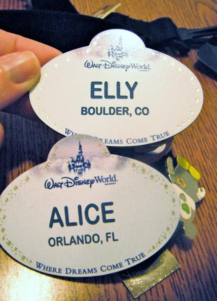 My secret identity:  Alice!