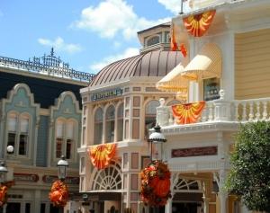Main Street USA all decorated.