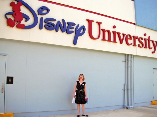Attending Disney Traditions classes with Caroline.