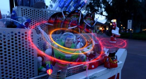 Buzz Lightyear spinners.