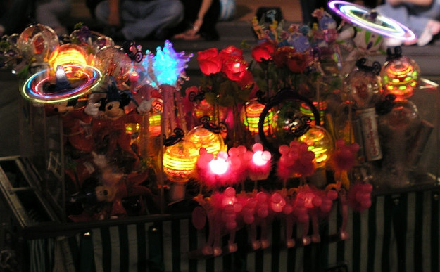 Downtown Disney at Night is Serious FUN!