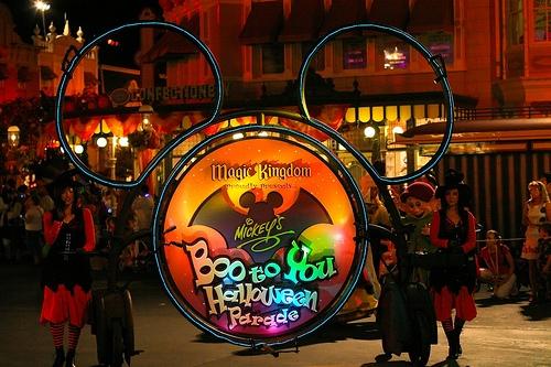 Mickey's Boo To You Parade.