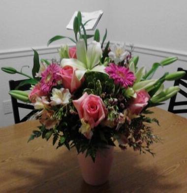 Flowers From Ian!