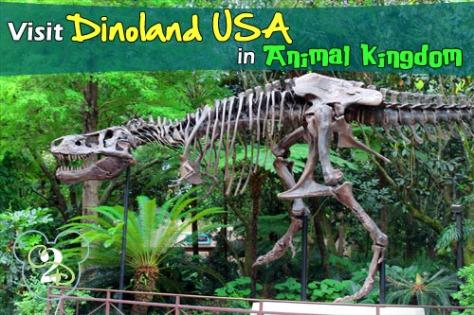 Dinoland entrance.