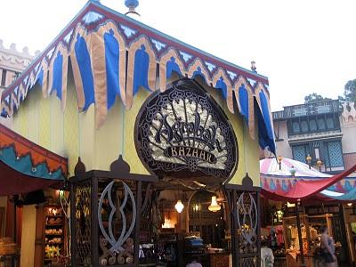 Agrabah Bazaar in Adventureland.