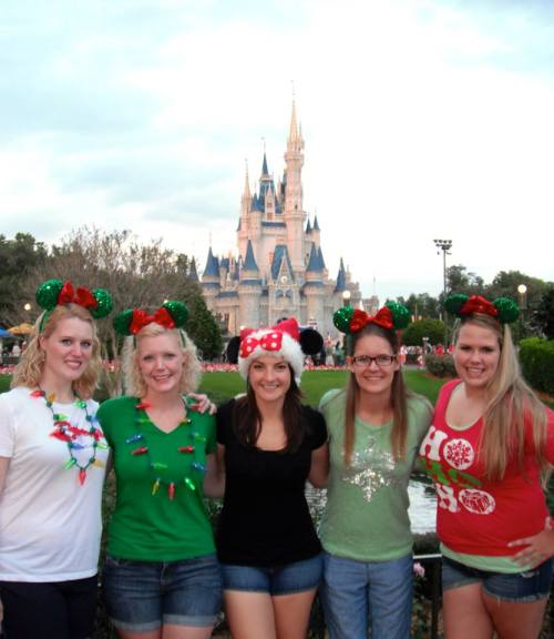 In front of the castle with our DCP friends.