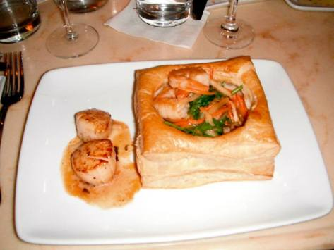 Caroline's dinner...YUM!