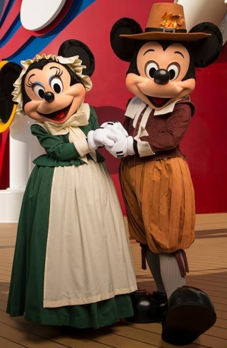 Pilgrim Mickey & Minnie