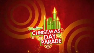 Disney Christmas Day  2013 Parade from Disneyland & Disney World.