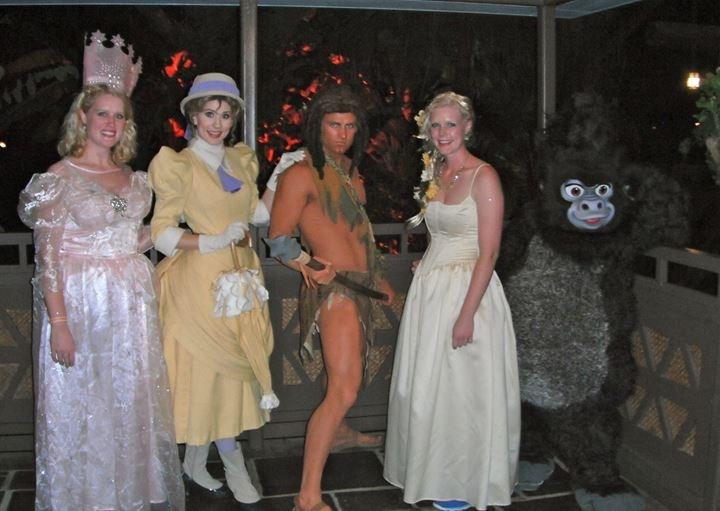 With Tarzan u0026 Jane  sc 1 st  Elly and Carolineu0027s Magical Moments - WordPress.com & Halloween Night at the Magic Kingdom | Elly and Carolineu0027s Magical ...