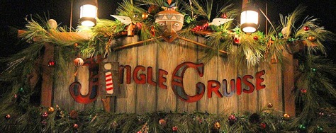 "Jungle ""Jingle"" Cruise at Adventureland"