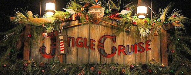 "Jungle ""Jingle"" Cruise at Adventureland"
