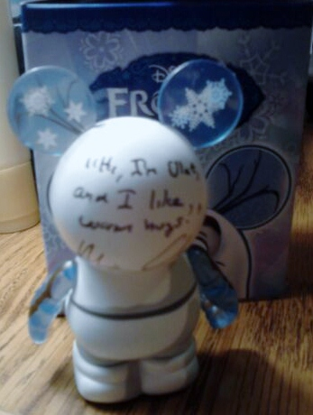 My signed vinylmation!