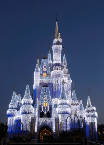 'Dream Lights' on Cinderella's Castle