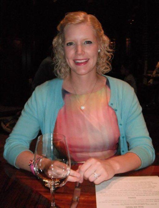 Caroline loved the restaurant decor!