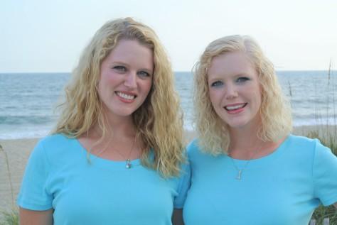 beach Two DIsney Sisters