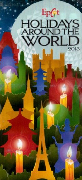 Holidays Around the World 2013 at Epcot.