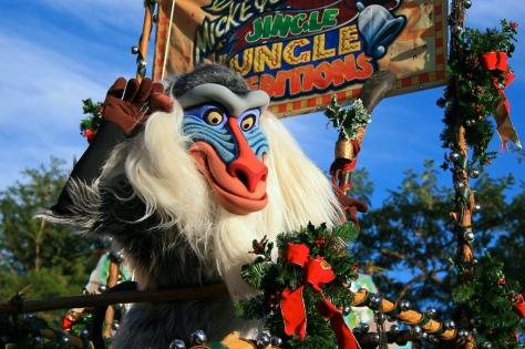 Christmas Day at Disney World