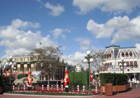 Main Street USA ready for parade.