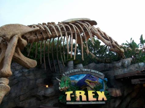 T-Rex restaurant in Downtown Disney.  First time eating there.