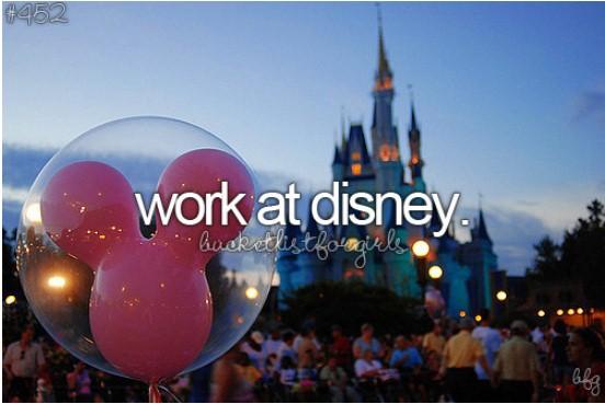 Work At Disney