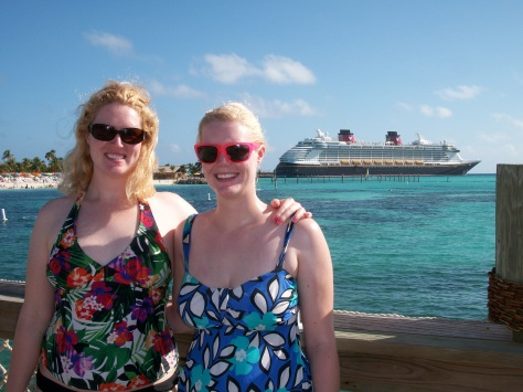 A perfect Caribbean day at Castaway Cay!