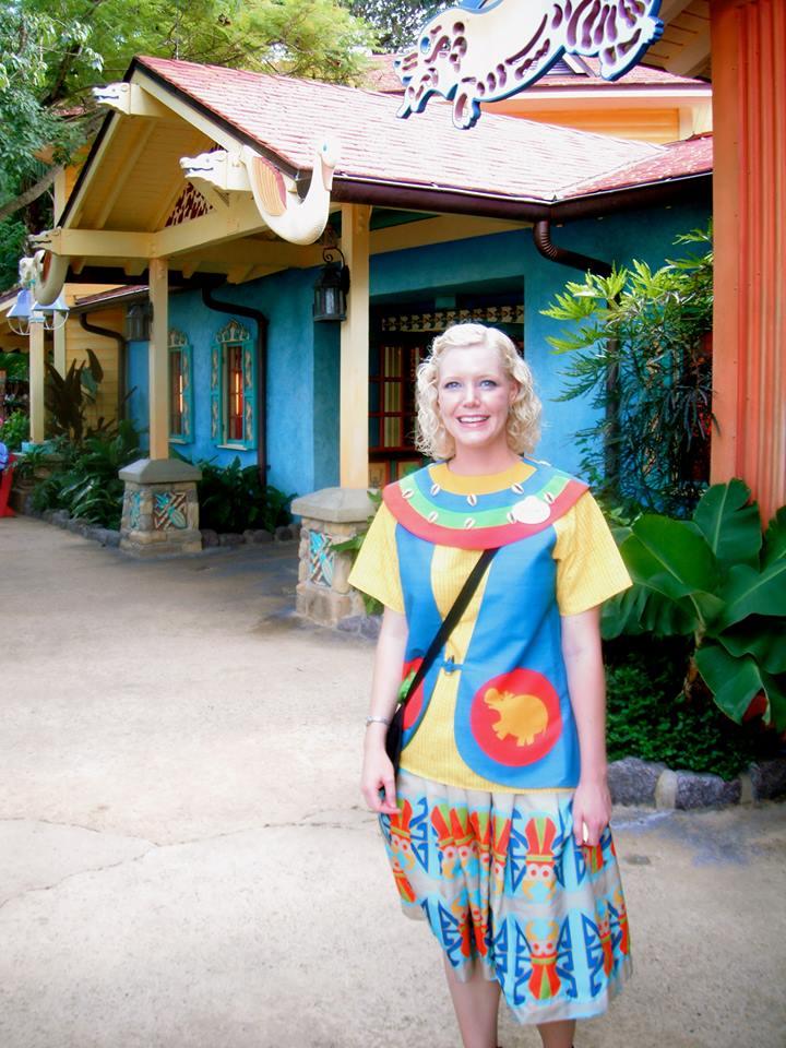 Animal Kingdom Discovery Island Cast Member Costumes