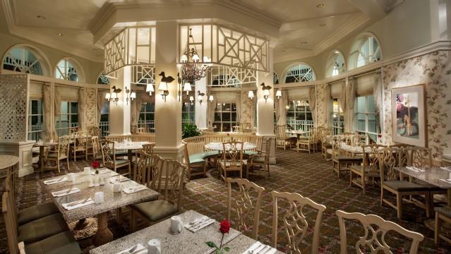 Dinner at the Grand Floridian Café
