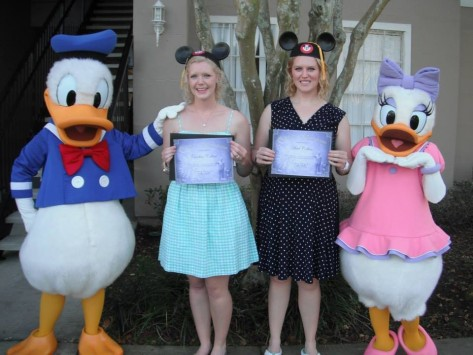Graduation Day for the Fall 2013 DCP interns.  Earned our Mouseer's Degree.