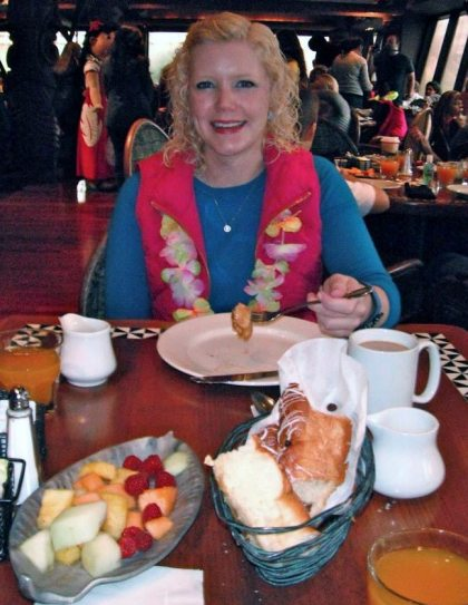 The food was so delicious!