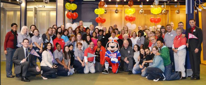 Team Mickey crew.