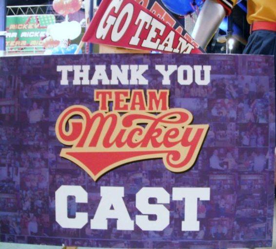 Team Mickey Goodbye Party