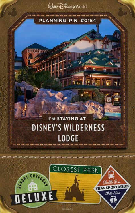 We loved the Wilderness Lodge!