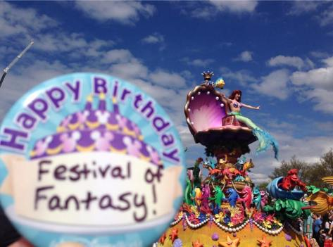 03/09/2015:  Happy 1st anniversary Festival of Fantasy parade!