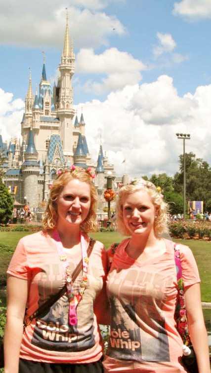 Castle two disney sisters