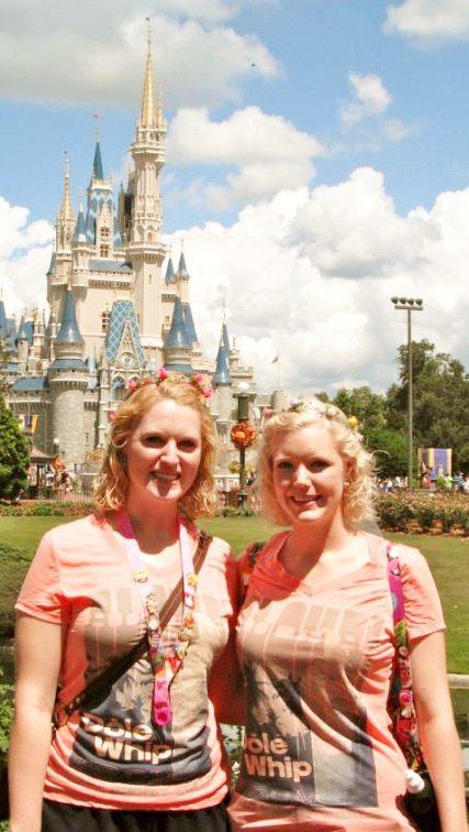 Castle two disney sisters