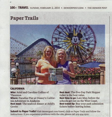 Blog of our Disneyland adventures.