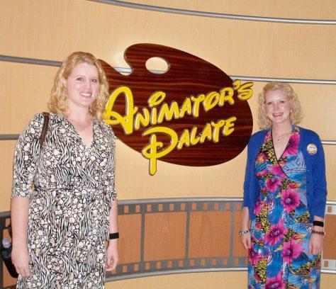 Animator's Palate on Caroline's birthday night.