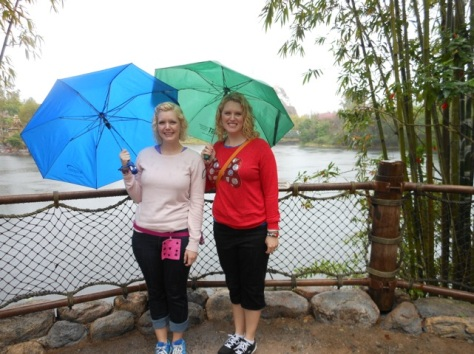 Touring Disney's Animal Kingdom in the Rain