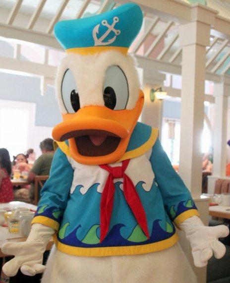 Donald Duck.