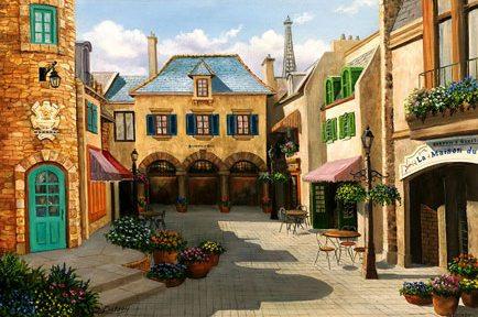 Epcot - France.  Les Halles Boulangerie et Patisserie