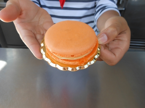 This is the Orange Macaroon that Epcot is selling for the Flower and Garden Show! So pretty!