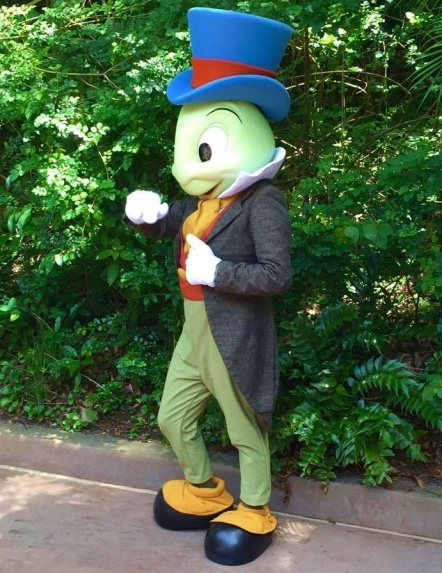 Jiminy Cricket at DAK