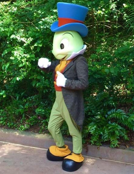 Jiminy Cricket at DAK