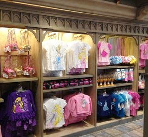 Sir Mickeys has a great selection of princess - and prince - clothing.