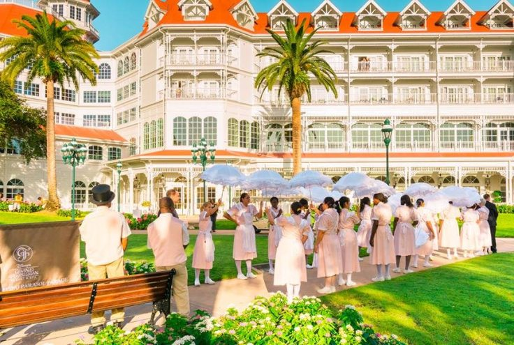 Showkeeping Parasol Parade at Grand Floridian