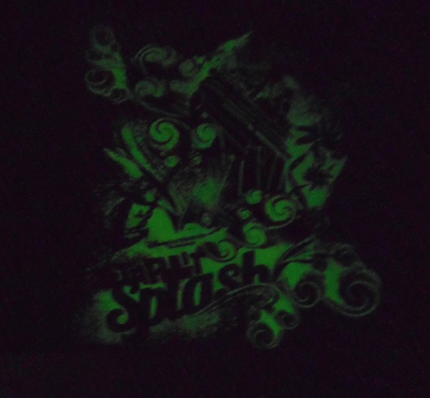 And it glows in the dark!!