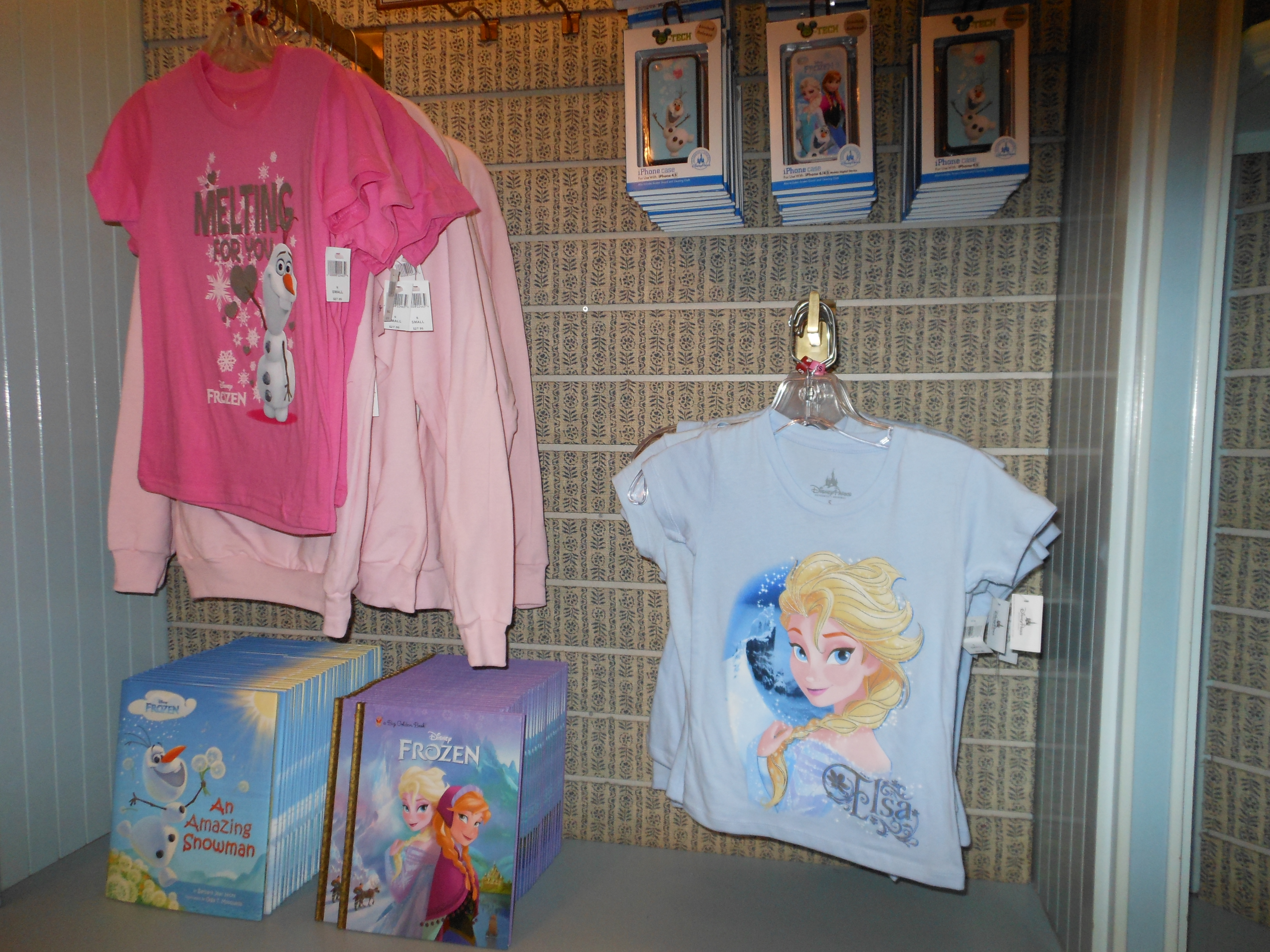 Lack of 'Frozen' Merchandise at WDW