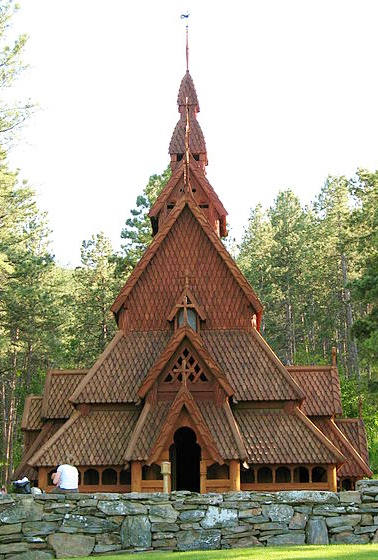 Stave church in South Dakota.  Been there!